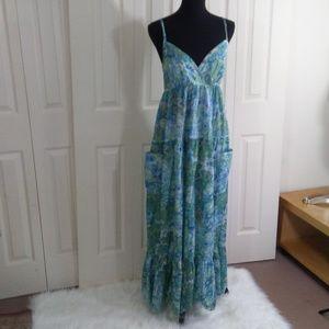 Voygaer Full Length Sun Dress